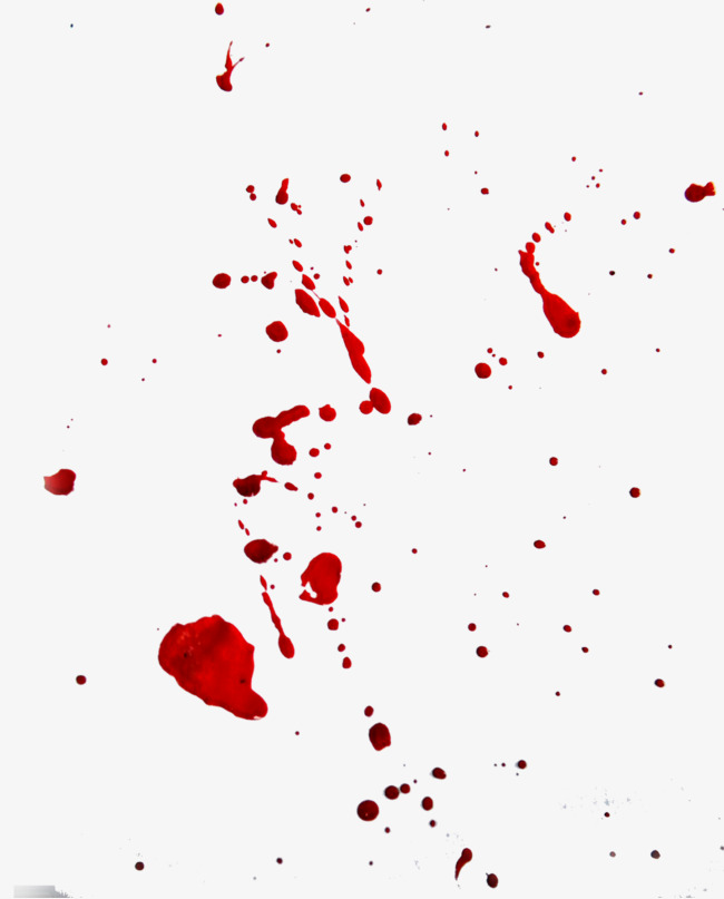 650x807 Blood Splatter Royalty Free Vector Image