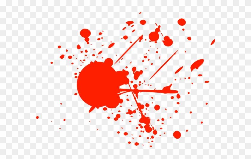 840x534 Bright Red Splatter Clip Art At Clker