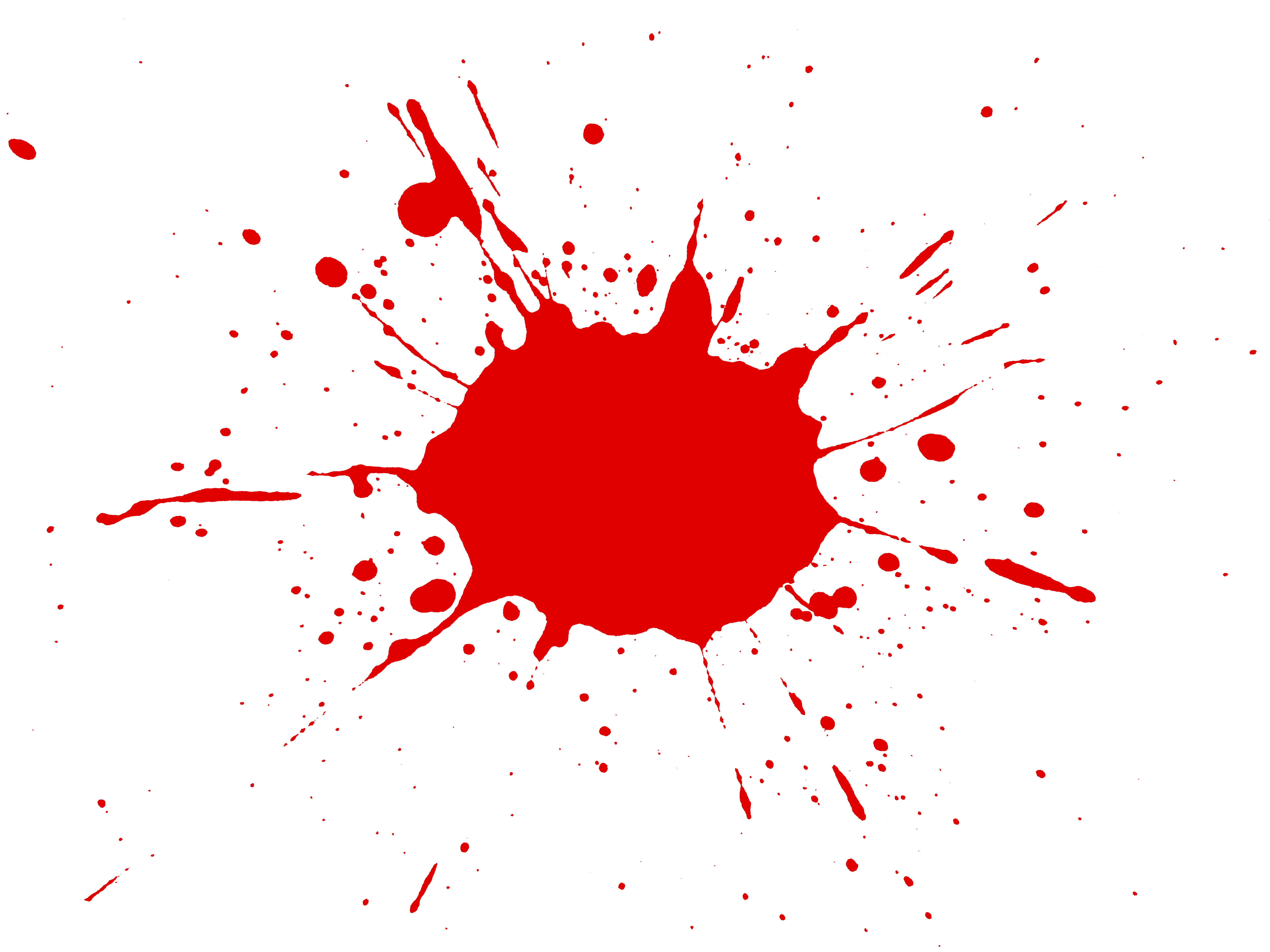 5000x3750 Red Clipart Splat