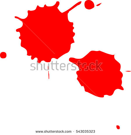 450x466 Blood Splatter Clipart Blood Splatter On White Background Stock