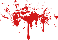 190x131 Bloody Twilight Splatter Blood Stain Vector By Zoom Spreadshirt