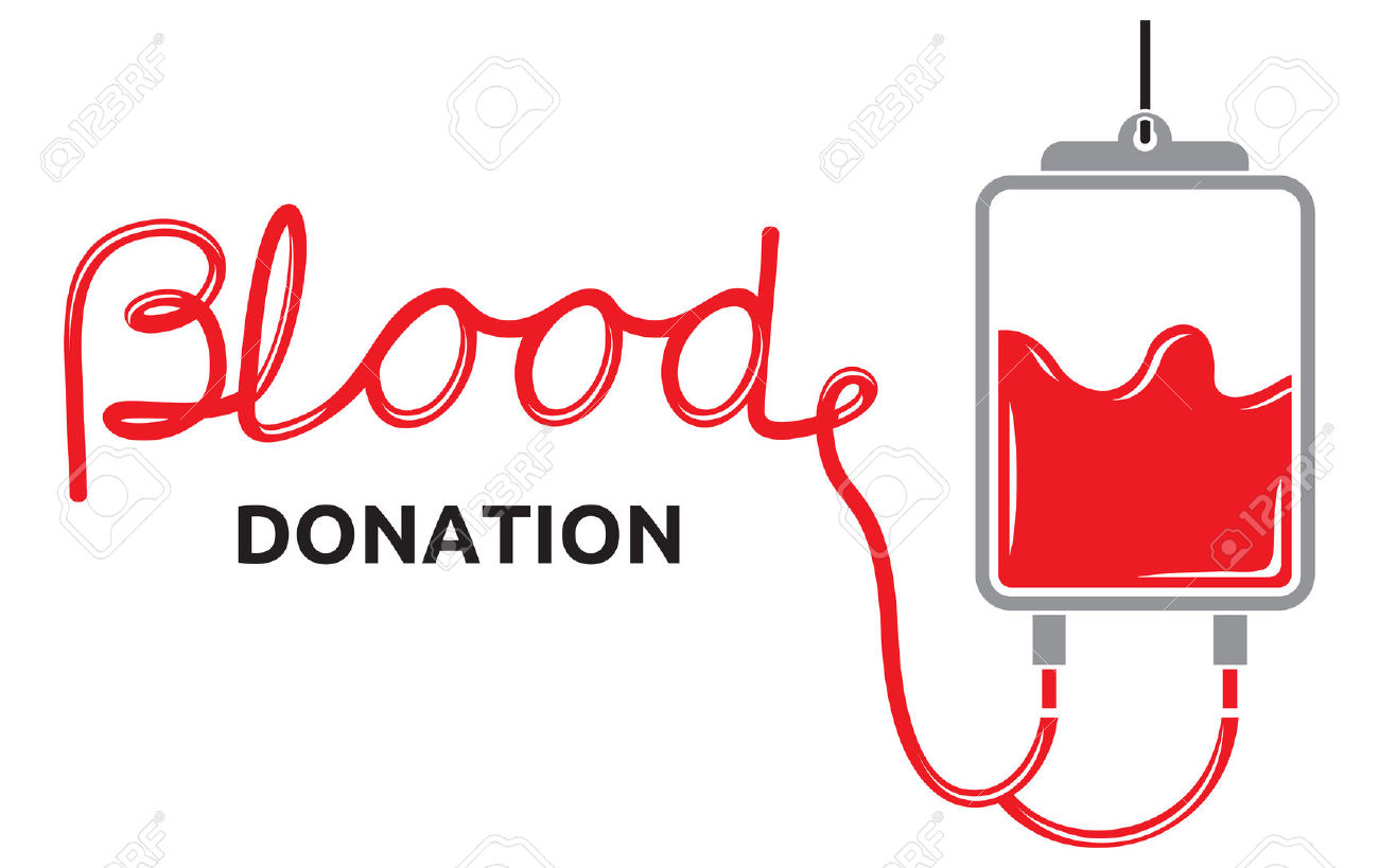 1300x819 Blood Donation Banner Black And White Free