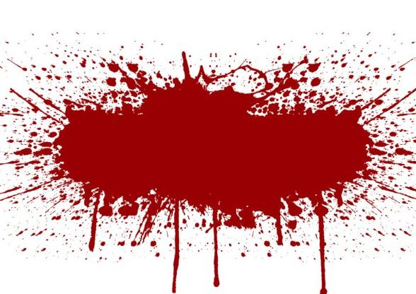 588x416 Splashing Blood Effect Vector Background 06 Free Download