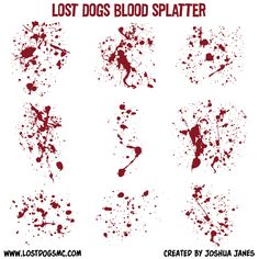 236x236 Blood Splatter Illustrator Grunge Background