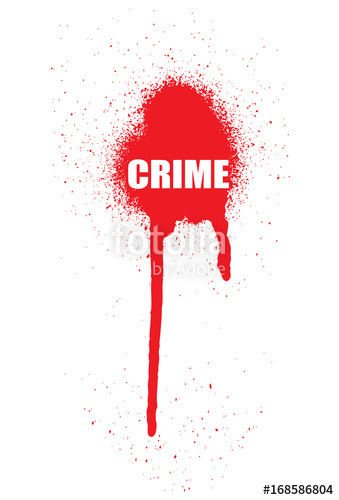 339x500 Blood Vector As A Crime Scene Text Stock Image And Royalty Free