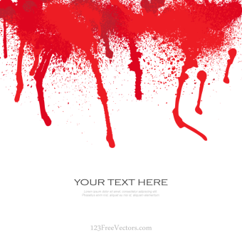 340x340 Blood Vector Free Download