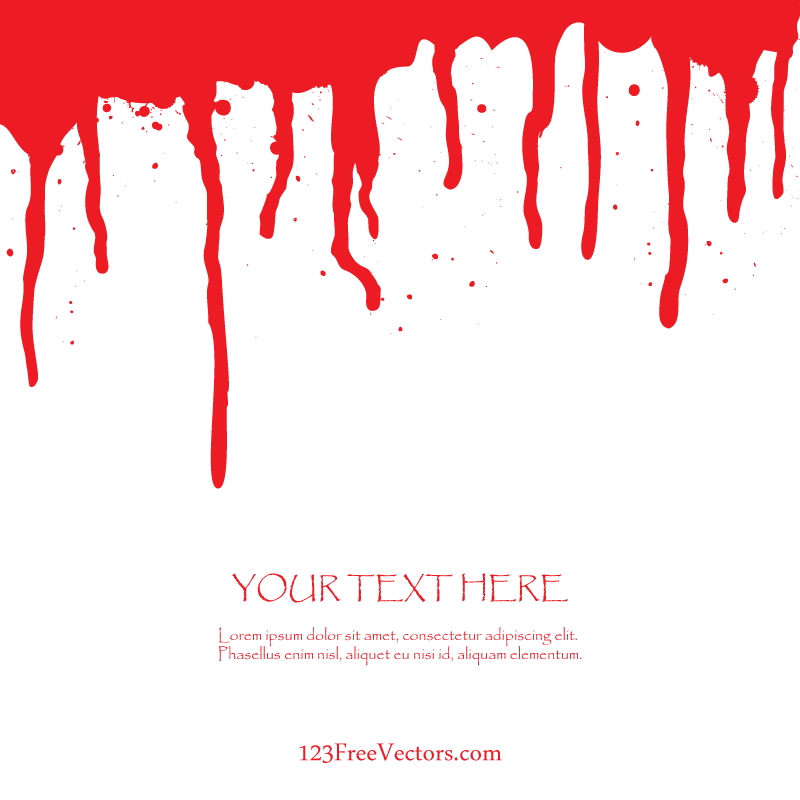800x800 Free Blood Dripping Vector Art 123freevectors