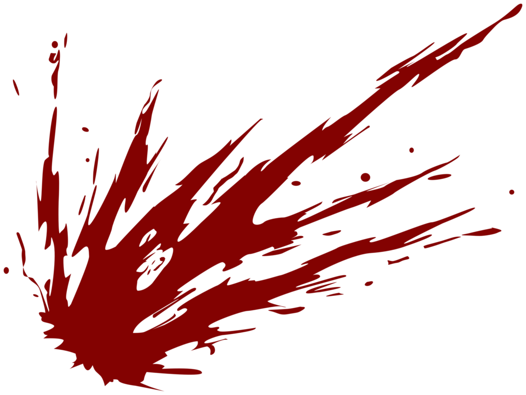 1031x774 Red Blood Splat Png