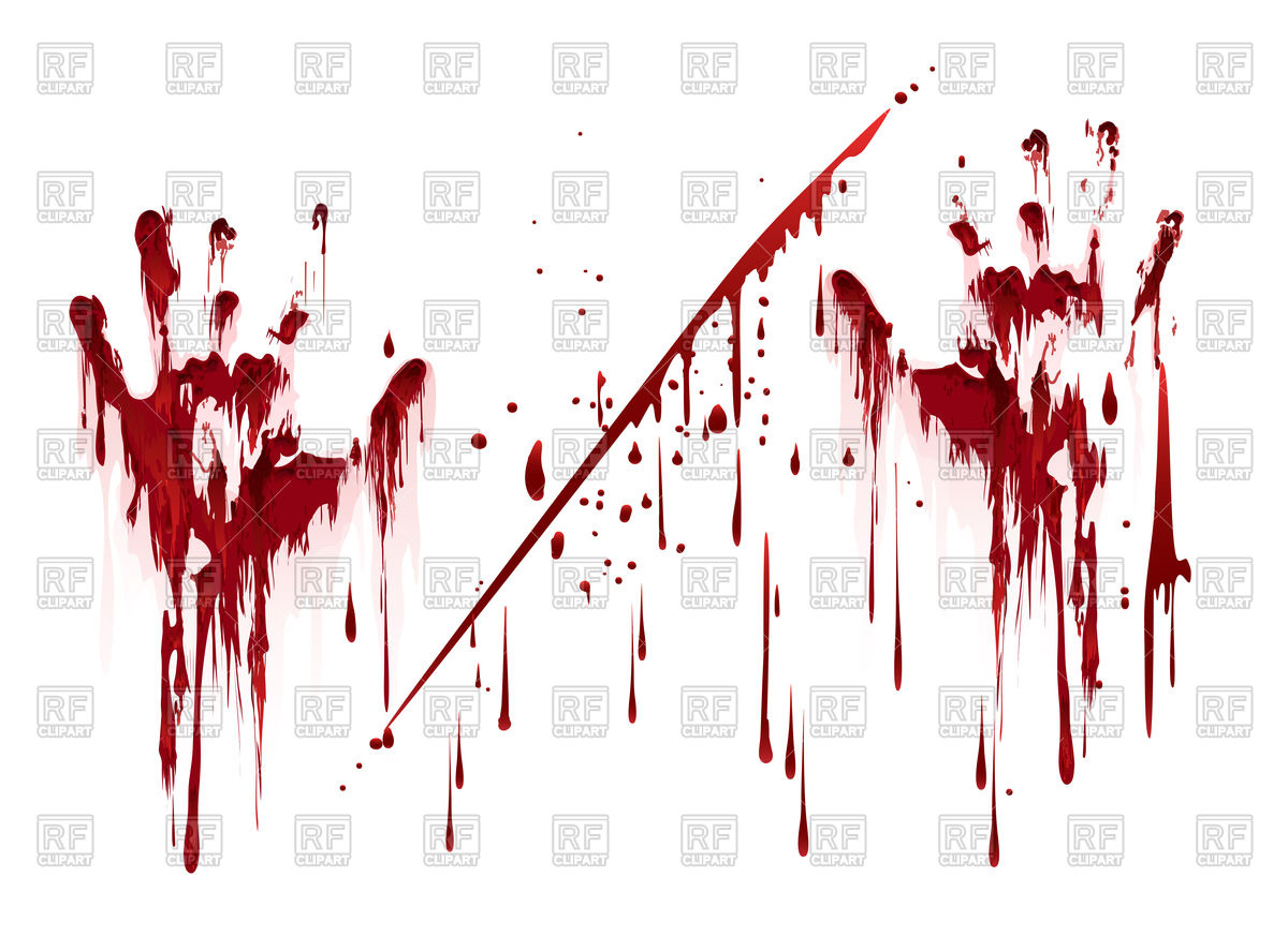 Bloody Handprint Vector at GetDrawings com | Free for