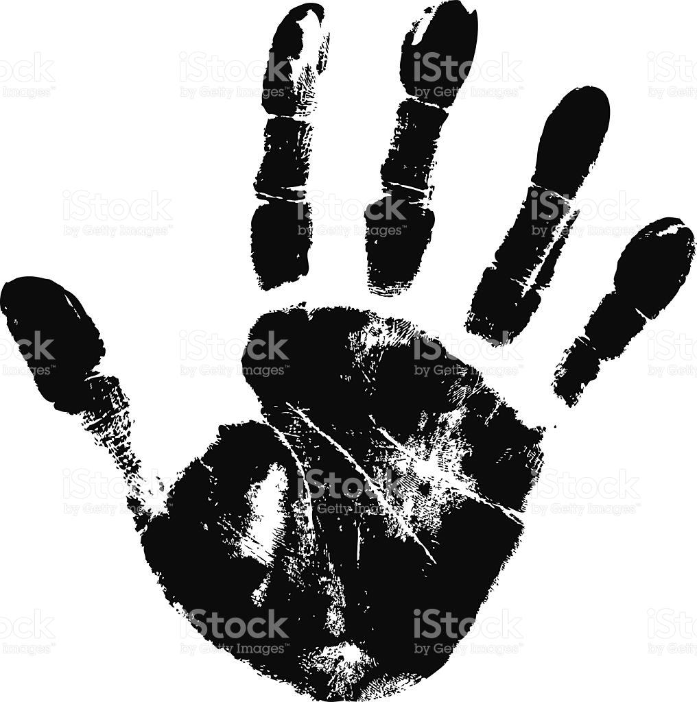 1016x1024 Handprint Clipart Vector ~ Frames ~ Illustrations ~ Hd Images