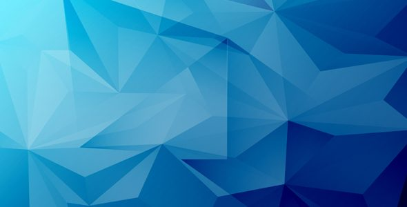 590x300 Blue Abstract Vector Background
