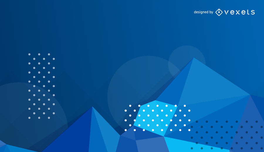 900x520 Vector Blue Abstract Background