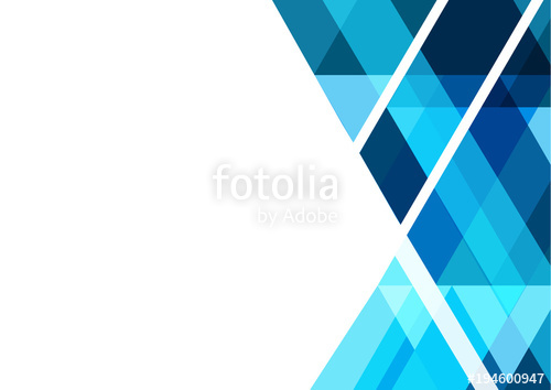 500x354 Blue Geometric Abstract Vector Background Design For Business