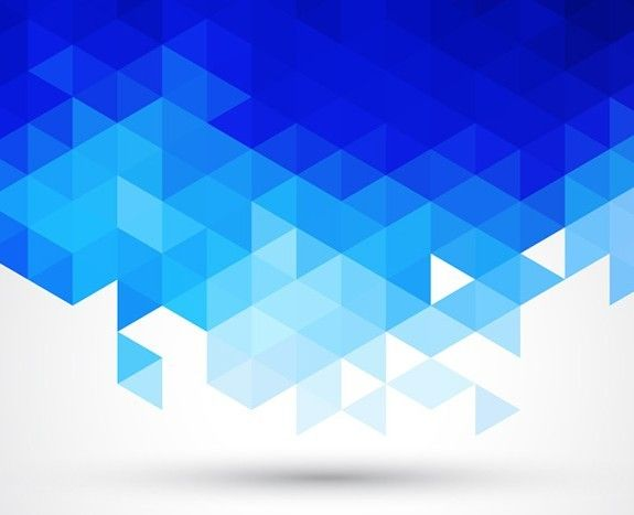 575x467 Free Blue Abstract Triangles Background Vector Free Webgraphic