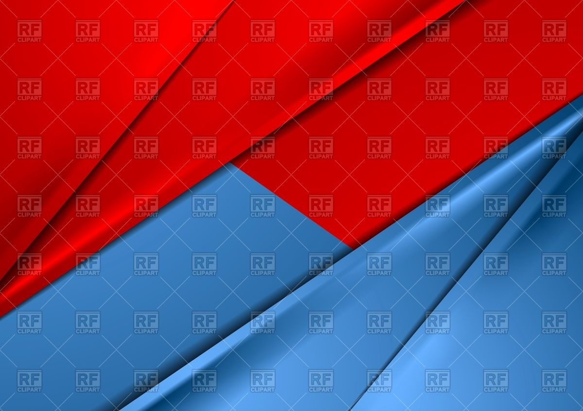 1200x846 Abstract Red And Blue Smooth Contrast Background Vector Image