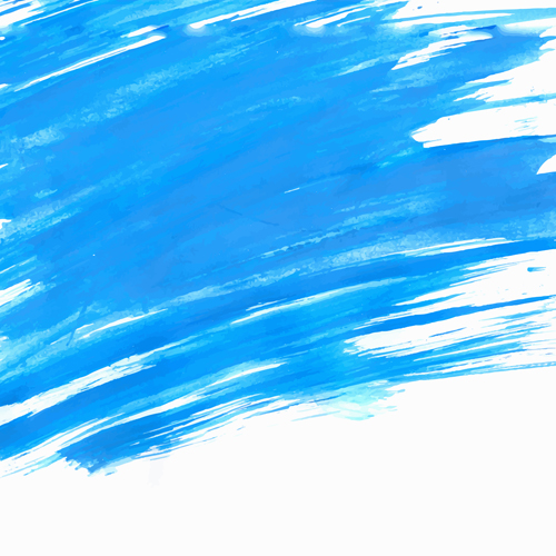 500x500 Blue Watercolor Wet Background Vector 03 Free Download