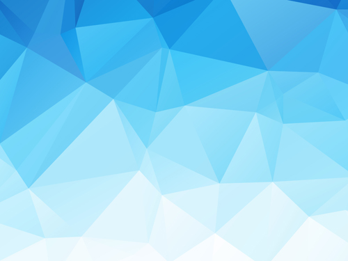 500x375 Embossment Triangular Blue Background Vector 04 Free Download