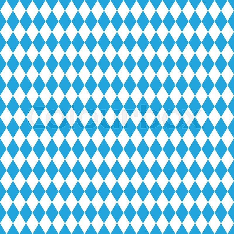 800x800 Oktoberfest Background With Banner. Vector Illustration. Blue