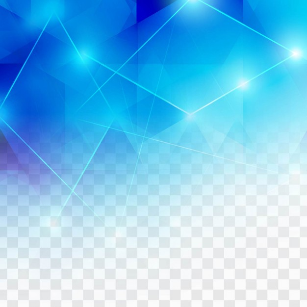 626x626 Polygonal Blue Background With Lights Vector Free Download