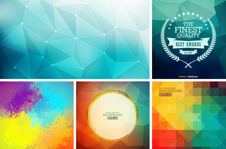 750x496 16 Abstract Background Vectors Free Download Cdr Ai Eps