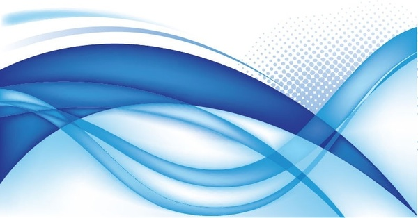 600x314 Abstract Blue Background Vector Graphic 3 Free Vector In