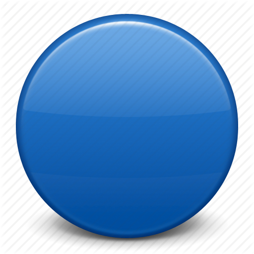 512x512 Blue Circle, Flag Icon
