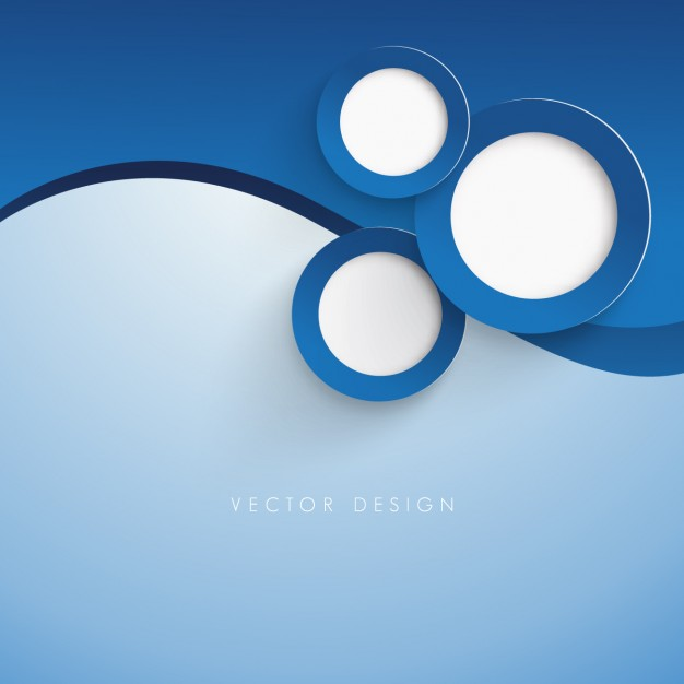 626x626 Dark Blue Circles Background Vector Free Download