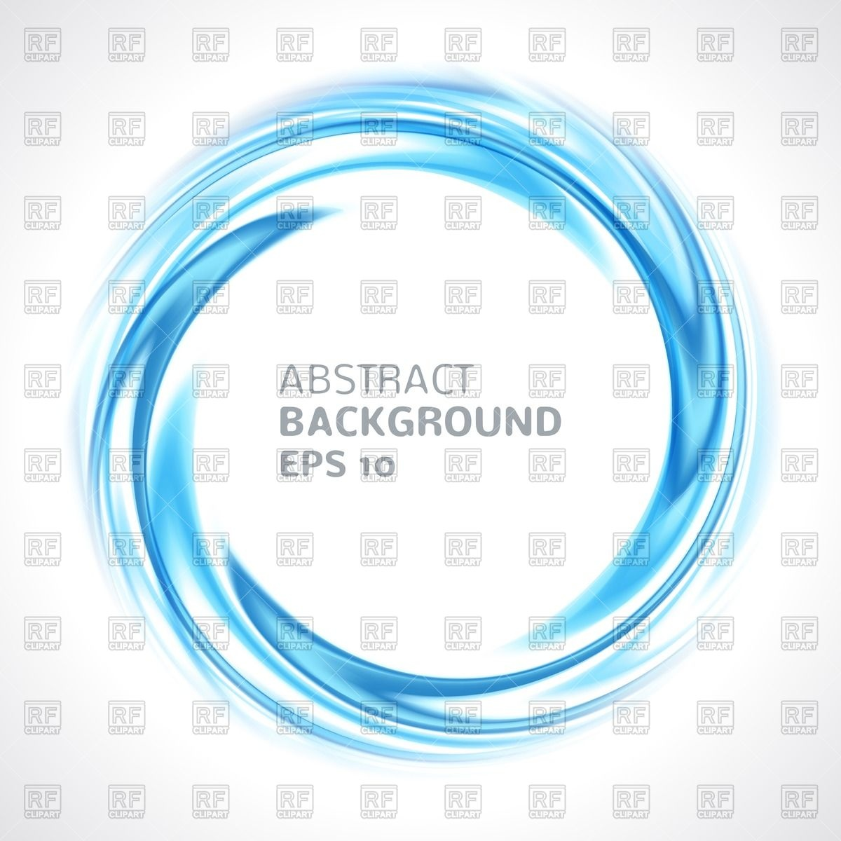 1200x1200 Abstract Blue Swirl Circle Vector Image Vector Artwork Of Design