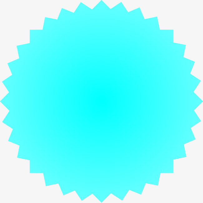 650x651 Blue Circle Vector Zigzag, Blue Vector, Circle Vector, Blue Png