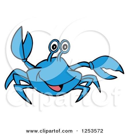 450x470 Blue Crab Vector File