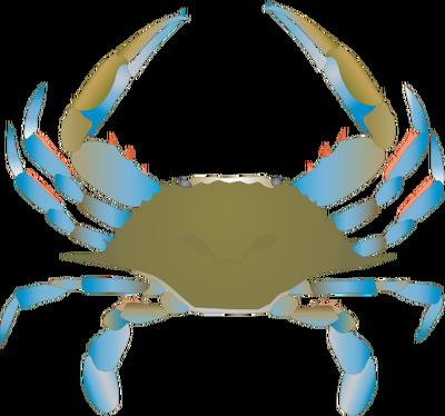 400x374 Blue Crab Clipart