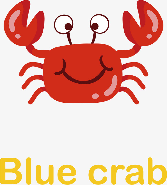 650x719 Cute Little Crab Vector, Vector, Cartoon, Lovely Png And Vector