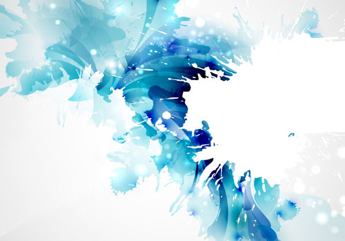 500x349 Blue Flower Vector Free Vector Download (17,066 Free Vector) For