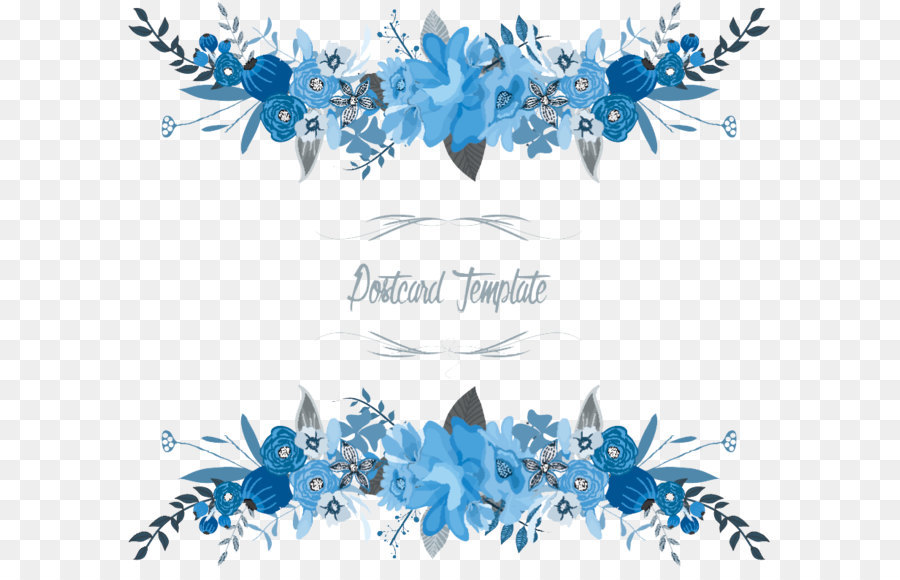900x580 Flowers Floral Vector Border Png Download
