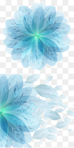 260x522 Blue Flower Png Images Vectors And Psd Files Free Download On