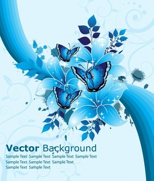 313x368 Blue Flower Vector Free Vector Download (17,066 Free Vector) For