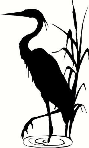 Blue Heron Vector