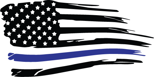 505x254 Blue Lives Matter Digital Vector Files, Instant Download For Print