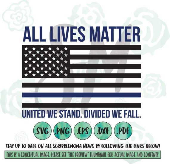 570x551 All Lives Matter Svg, Eps, Dxf, Png Download For Cricut Or