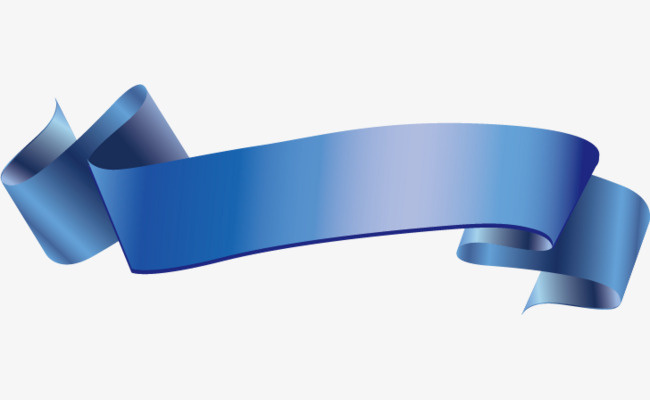 650x400 Hd Blue Ribbon Vector, Vector, Hd, Blue Png And Vector For Free
