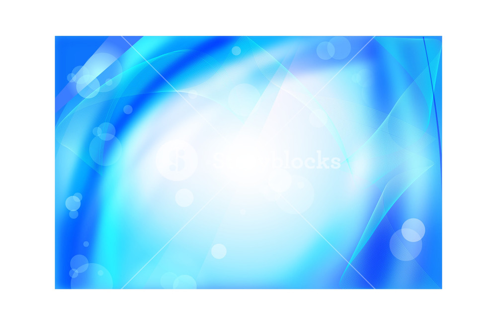 1000x655 Cool Blue Vector Background Royalty Free Stock Image