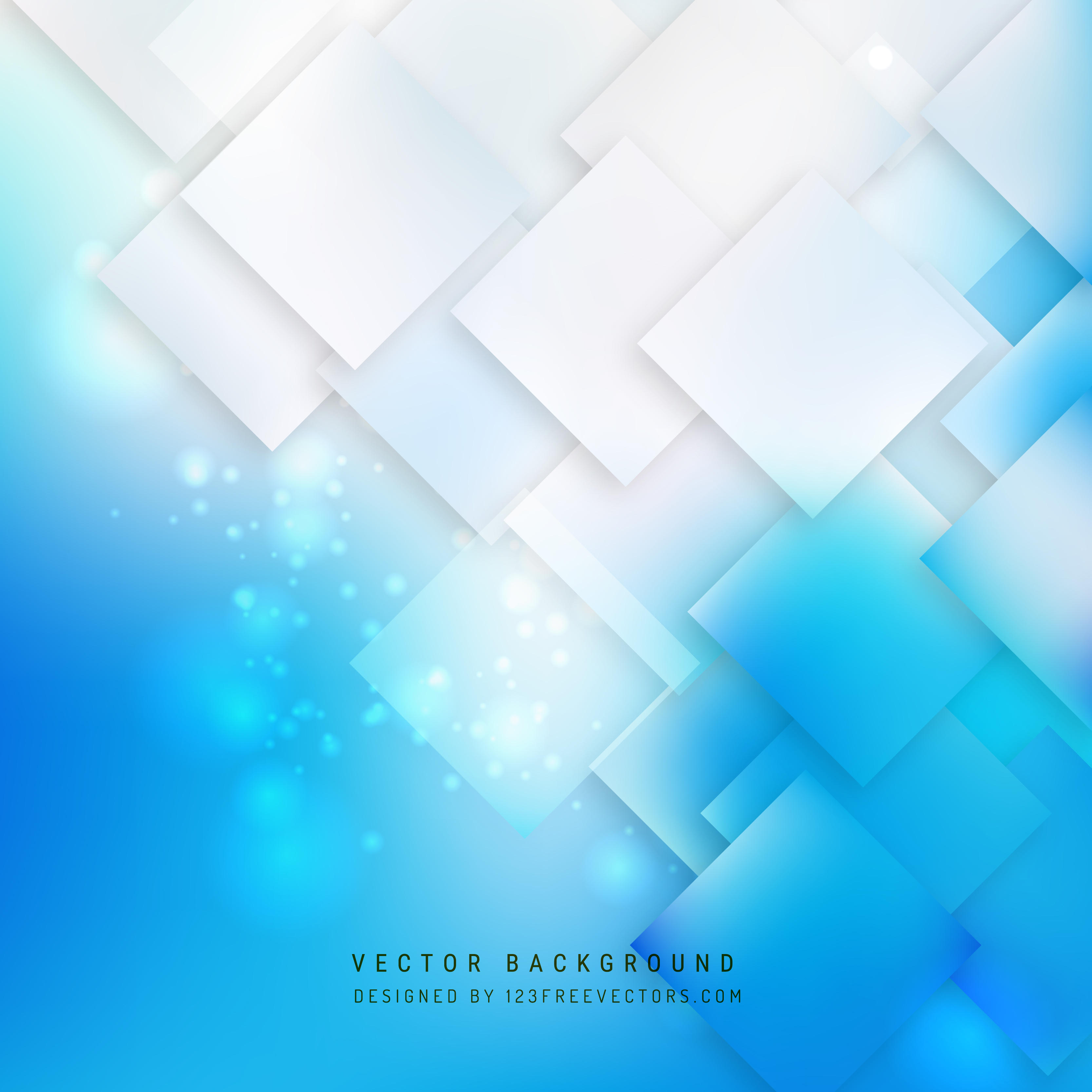 3333x3333 Abstract Blue White Geometric Square Background 123freevectors