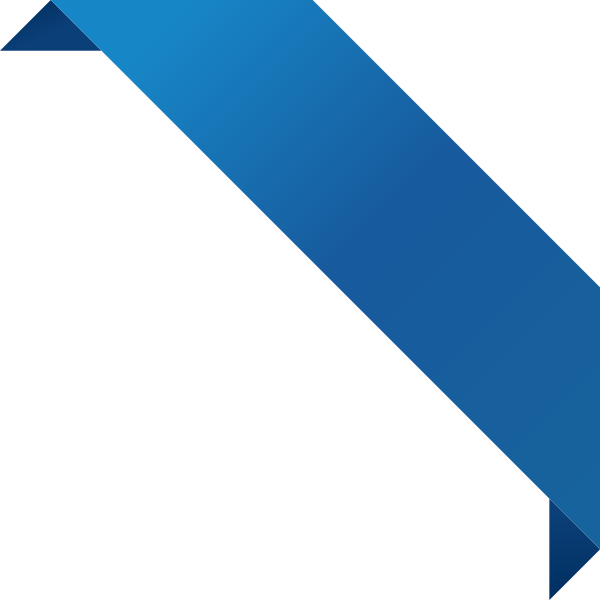 600x600 Corner Ribbon02 Blue Vector Data Svg(Vector)public Domain