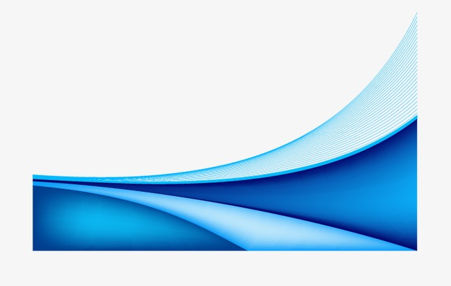 650x413 Blue Wave, Trim, Wave, Line Png And Vector For Free Download