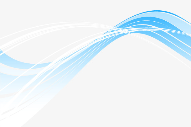 610x405 Decorative Image Of Blue Waves, Blue Vector, Waves Vector, Vector