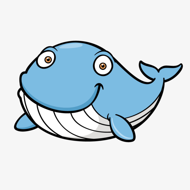 650x651 Cute Blue Whale Vector, Cute Clipart, Whale Clipart, Blue Whale