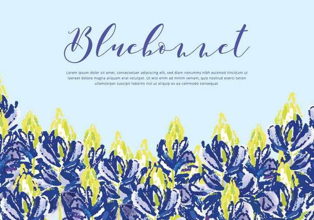 632x443 Bluebonnet Vector Background Free Vector Download 443661 Cannypic
