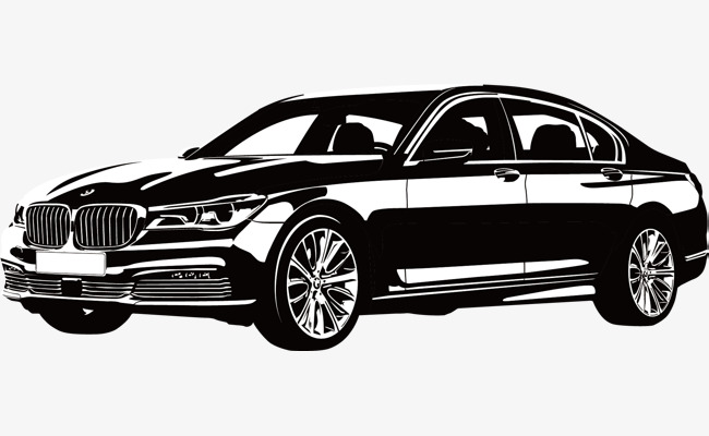 650x400 Black And White Bmw, Bmw, Black And White, Sports Car Png And