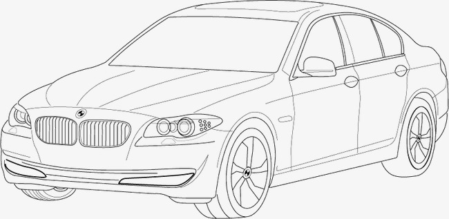 650x317 Bmw 5 Series Vector, Bmw, Bmw, Transportation Png And Vector For