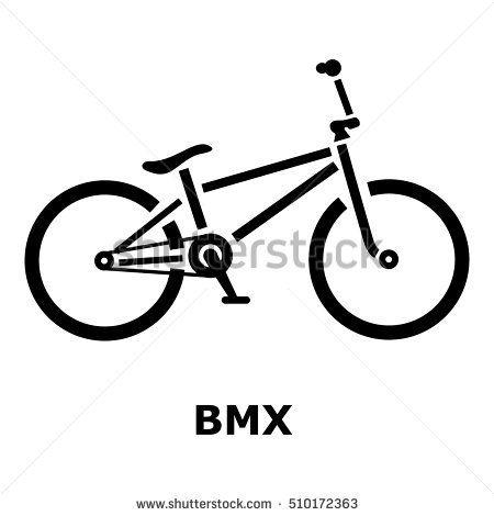 450x470 Bmx Bike Icon. Simple Illustration Of Bmx Bike Vector Icon For Web